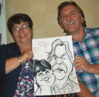 Caricature Artists Liverpool Widnes Wirral